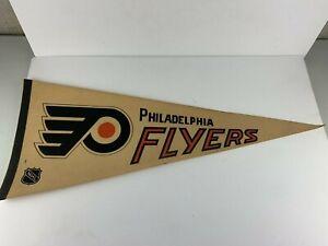 Vintage 1970's OR 80'S  Philadelphia Flyers  30'' Pennant Tag