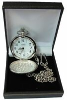 Personalised Pocket Watch Father of the Bride Groom Best Man Usher Dad Wedding