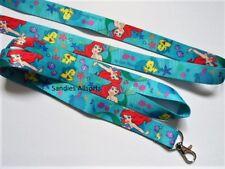 Ariel My Little Mermaid Lanyard Neck Strap - Phone/ ID / MP3 / Keys/ Whistle