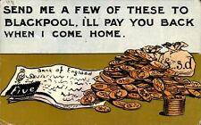 Blackpool Coin & Banknote Comic by H.M.& Co.,Blackpool.