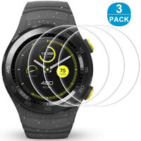 KE_ 3Pcs Tempered Glass HD Front Protective Films for Huawei Watch 2 Pro 46mm