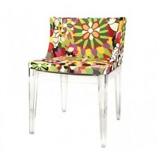 Mademoiselle Chair Acrylic Accent Chair Modern Reproduction