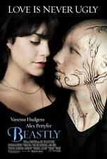 BEASTLY Movie POSTER 27x40 D Alex Pettyfer Peter Krause Dakota Johnson Erik