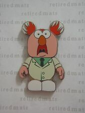 AUTHENTIC 2010 Disney Vinylmation Pin Muppets #1 BEAKER In Lab Assistant Coat