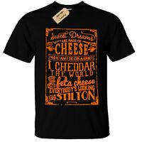 Fromage T-Shirt Sweet Dreams Are Fait de Cheddar Brie Amoureux Cadeau