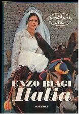 BIAGI ENZO ITALIA RIZZOLI 1975 I° EDIZ. LA GEOGRAFIA DI BIAGI 3 GIORNALISMO