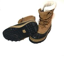 Sorel Caribou Waterproof Leather & Rubber Boots  Size 7 or EUR. 38