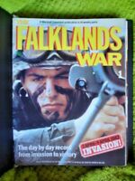 COMPLETE SET OF  THE FALKLANDS WAR 448 PAGES VOLUMNS 1 TO 14 IN FOLDER SEE PICS