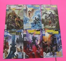 The Brave and the Bold Batman and Wonder Woman  # 1,2,3,4,5,6 COMIC DC 2018