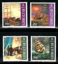 SELLOS TRANSPORTES BARCOS GIBRALTAR 1997 798/01  EUROPA 1997 4v