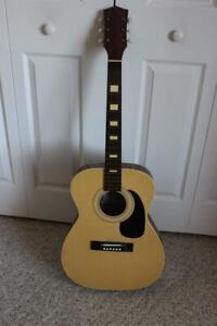 Scarce Vintage Harmony #319 Acoustic Guitar Serial #12141300 Dreadnaught