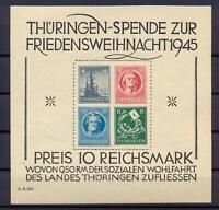SBZ Block 2 t Weihnachtsblock postfrisch (rs77)