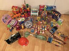 Huge Lot Of Toddler Toys, Kindergarten And Preschool Play Sets, Barbie Laptop