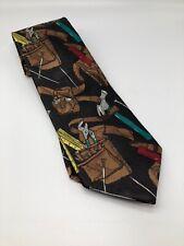 Home Improvement Vintage 90s Tool Belt Graphic Print 100% Silk Tie