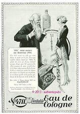 PUBLICITE PARFUM EAU DE COLOGNE 4711 MONTRE GOUSSET HEUREUSE ANNEE DE 1930 AD