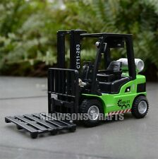 Diecast Metal 1:24 Truck Model Toy Sound & Light Pull Back Forklift Replica