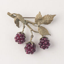 Raspberry Brooch Pin - Michael Michaud - Silver Seasons Jewelry