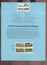 #2160-63 22c Youth Year USPS #8546 Souvenir Page