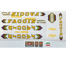 Faggin Special or Competition complete set of decals vintage Choices
