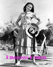 """GENE TIERNEY 8X10 Lab Photo 1941 """"TOBACCO ROAD"""" Early YOUTHFUL Actress Portrait"""