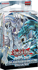 Saga of the Blue Eyes White Dragon Structure Deck - YuGiOh - Brand New(flatpack)