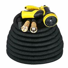 IDESION 100ft Garden Hose Pipe Expandable Magic Water Hose Pipe with 9 Function