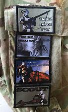 Star Wars Stormtooper Lot of 4 Morale Patches Endor Biker Military Tactical Flag