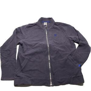 Roger Federer Nike French Winter RF Court Essential Purple Jacket Size Large EUC