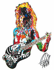 George Lynch: Dokken: Guitar Player: Guitarist: Hard Rock: Metal, PRINT w/COA