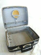 Vintage Samsonite TRAVELER Vanity Case Overnight Bag ORIGINAL MIRROR