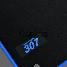 Alfombrillas Alfombras a medida para PEUGEOT 307 y SW EDITION Velour azul