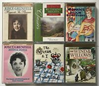 Audiobooks Cassette Tapes- Joyce Greenfell+ Wuthering Heights+Queen & I+More (5)