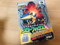 Nintendo 64 Starfox 64 Rumble Pak Edition Box REG Card N64 Tested Working