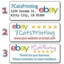 30 eBay Return Address Labels Sellers Personalized Thank You Stickers Custom