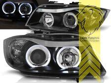 LED Angel Eyes Scheinwerfer für BMW E90 Limousine E91 Touring schwarz