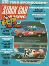 STOCK CAR RACING 1979 JAN - SILVA, WOOD Bros, MANNING, Allison, Schaefer 100