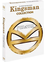 KINGSMAN COLLECTION (2 DVD) Colin Firth, Samuel L. Jackson
