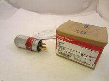 Crouse Hinds ENP5151 prueba de explosión 15 Amp Enchufe 120V Nuevo En Caja