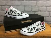 CONVERSE ALL STAR STARRY MOO COW BLACK GREY GOLD PINK TRAINER CHILDREN GIRLS T