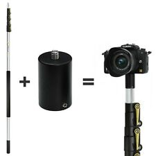 DocaPole 24 Foot Camera Pole – 6-24 ft Extension Pole + ClickSnap Camera Adapter