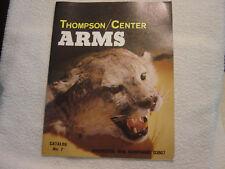 THOMPSON CENTER ARMS  1980 no. 7 catalog