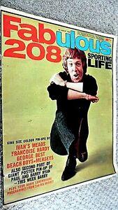 FABULOUS 208 MAGAZINE: 6TH AUGUST 1966 (FAB 208) BARRY RYAN/ MERSEYS/ BEACH BOYS