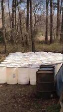 35 Gallon Food Grade Barrels! Removable Lid! Drum Water Container Rain Barrels