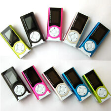 LCD Screen Metal Mini Clip Light MP3 Players MP3 Music Support 32GB Micro TF/SD