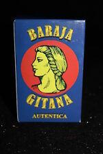 BARAJA GITANA AUTENTICA de 48 CARTAS DE CARTON tarot no de plastico ADIVINACION