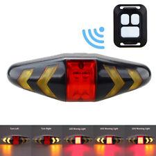 Wiederaufladbare LED Fahrrad Rücklicht Fahrrad Blinker w / Front Fernbedienung w