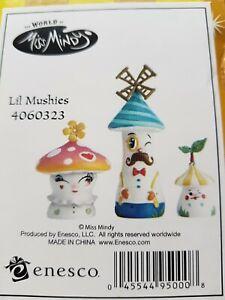 The World of Miss Mindy 4060323 Miss Mindy Lil Mushies Mushroom Figurine