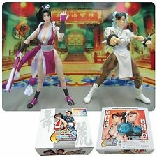 "CAPCOM V SNK STREET FIGHTER Chun-Li VS mai 6"" videogioco figure, ps3, x box"