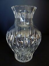 "Waterford Marquis Sheridan Crystal Cut Glass Flower Vase. Approx. 8 1/4"" Tall"