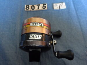 T8075 PF  ZEBCO RARE 700 HOSS ALL METAL HEAVY DUTY FISHING REEL MADE IN USA
